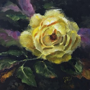 Yellow Rose By Night