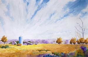Blue silo 2