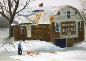 Wayne Feeds Barn, Coal City