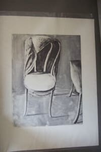 The Chair by the Door II black and white