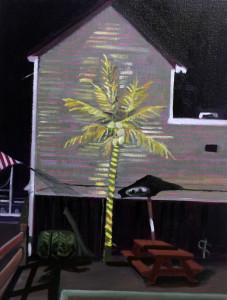 Neon Palm