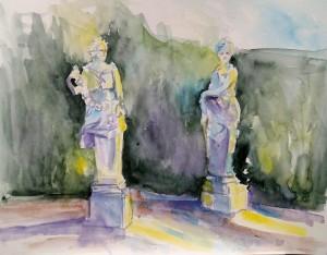Louvre statues azvrtv