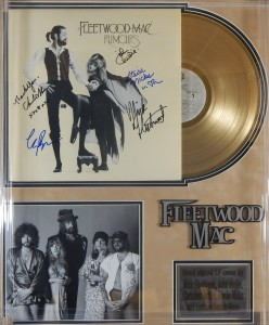 """Fleetwood Mac Signed Gold LP Record """"Rumours"""""""