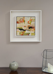 Chasing the window seat alice sheridan framed abstract landscape painting mxgssk