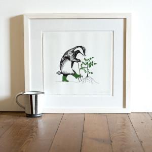 Gardening badger jr1pao