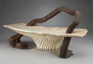 Serpentine Bench