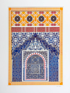 Alhambra Study No. 1