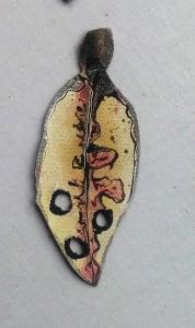 Pohutukawa Leaf .  420
