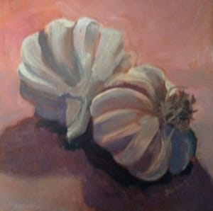 Still Life - Garlic Clove