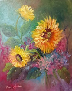 24x20 sunflowers htly2s