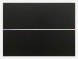 White Line On Black