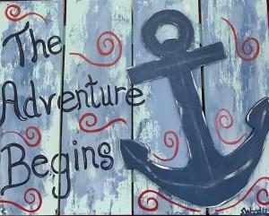 The adventure begins j69fzc