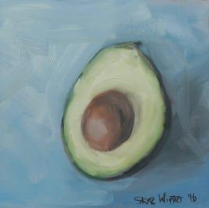 Avocado Portrait III