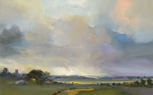 15. Landscape with a Castle. Middlebere Heath