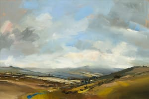 18.On the Road to Princetown. Dartmoor
