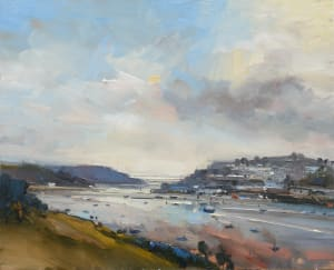 3. View to the Sea in Autumn. Salcombe. Devon