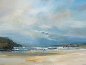 24. Autumn Evening on Treyarnon Bay. Cornwall
