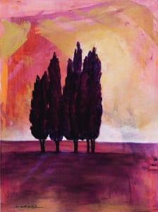 Tuscan Trees