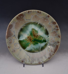 Green Crystal Plate