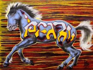 Liz chappie zoller iron horse warrior ii 30 x 40 oil o2g2ip