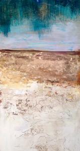 Rain in the Desert (diptych left)