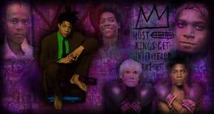 Portrait of Jean-Michel Basquiat
