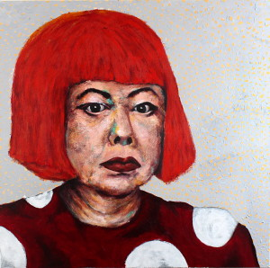 Homage To The Princess (Portrait of Yayoi Kusama)
