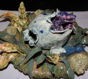 Nereus - Baby Bog Dragon