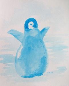 Baby Blue Penguin