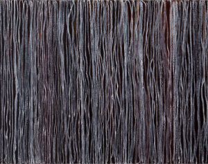 Doingitagain oil stick.oil alkyd on wood panel 41 x 52