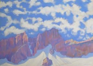 Ronde des nuages, massif du Muveran