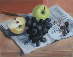 Pomme et raisin, Gazette de Lausanne