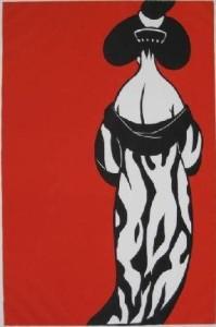 Japanese Red (print)