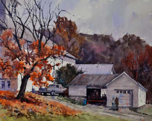 Late Fall at Barree Forge