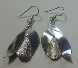 Cracking Open earrings