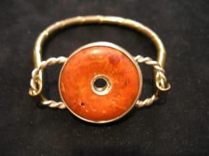 Coral Doughnut Bracelet