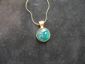 Jade Moonface Necklace