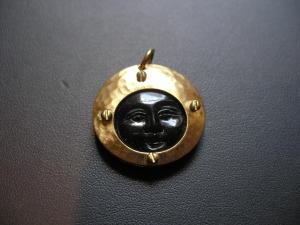 Moon Man Necklace