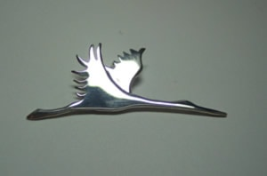 Flying Crane Pin