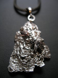Bark with Fly Necklace 1
