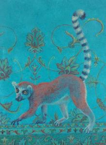 Lemur Lost in a Persian Jungle