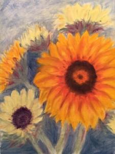 Still Sunflowers