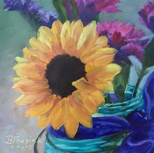 Sunflower Smiles (Study of Dreama Tolle Perry)