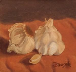 Garlicky