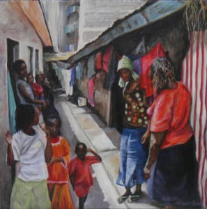 Methare Wash Day - Sold