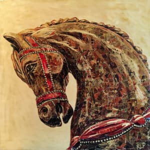 Untitled Carousel Horse #3