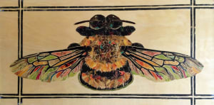 Untitled (colorful bee)
