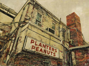 Planters Peanuts in Arcade Alley