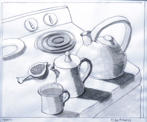 Stove still life czpggb