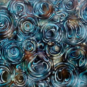 Raindrop Pattern, #2